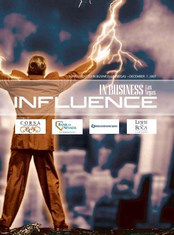 Influence 2007 - Las Vegas Sun