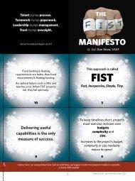 FIST Manifesto