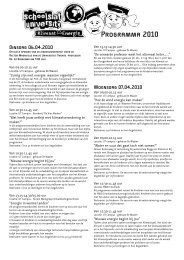 Programma 2010 - Schools at University for Climate and Energy