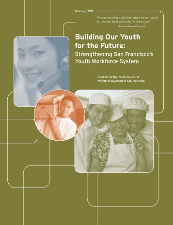 Building Our Youth for the Future - Office of Economic and Workforce ...