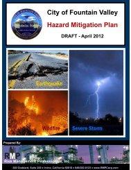 City of Fountain Valley Hazard Mitigation Plan