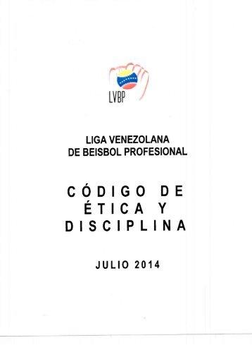 Codigo de etica Disciplinaria 2014-2015