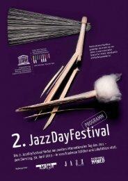 Programm 2. JazzDayFestival ganze Schweiz - SwissJazzOrama