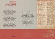 Barlaam und Josaphat in der Literatur des Mittelalters ...
