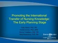 Impacting Knowledge, Attitudes and Beliefs Regarding HIV in ...