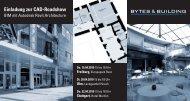 Einladung zur CAD-Roadshow - Bytes & Building GmbH