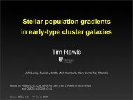 Stellar population gradients in early-type cluster galaxies