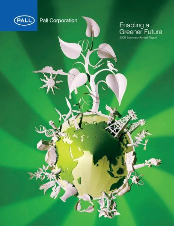 Enabling a Greener Future - Pall Corporation (PLL)