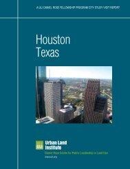Houston Texas - Urban Land Institute