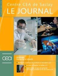 journal de Saclay n°34 - CEA Saclay