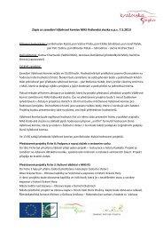 Zápis ze zasedání Výběrové komise MAS Královská stezka ops 7.5 ...
