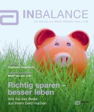 INBALANCE CoPilot Digitales Tagebuch ... - Abbott Diabetes Care