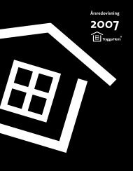 Årsredovisning 2007 - Trygga hem