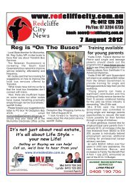 2012 08 07 Edition 362 - Redcliffe City News