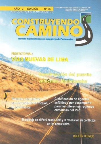 Revista Construyendo Camino - Colegio de Ingenieros del Perú