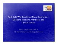 Post-Cold War Combined Naval Operations - The Naval Attachés ...
