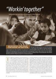 Burchill et al.6 - Australian Institute of Family Studies