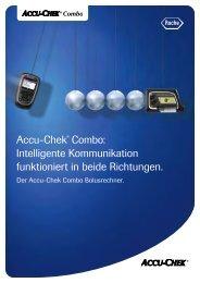 Accu-Chek Combo Bolusrechner Patientenleitfaden