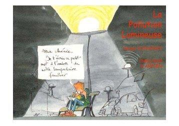 La Pollution Lumineuse - Observatoire de Haute-Provence