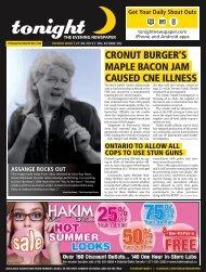 cronut burger's maple bacon jam caused cne illness - tonight ...