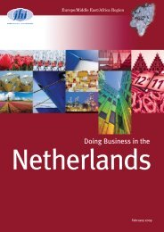 Doing Business in the Netherlands - JHI