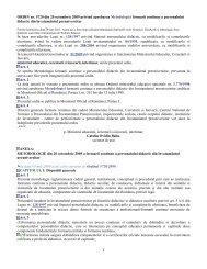 1 ORDIN nr. 5720 din 20 octombrie 2009 privind aprobarea ...