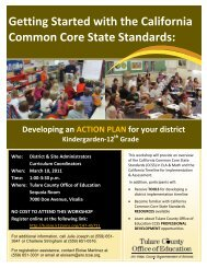 Getting Started with the California Common Core State Standards: