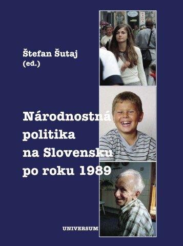 Stiahnite si túto publikáciu vo formáte PDF. - Slovenská Akadémia ...