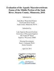Evaluation of the Aquatic Macroinvertebrate Fauna of the Middle ...