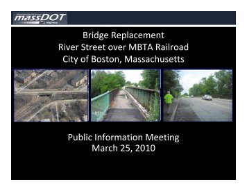 Public Information Meeting for the River Street Bridge Replacement ...