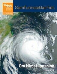 Om klimatilpasning - Direktoratet for samfunnssikkerhet og beredskap