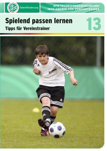 Spielend passen lernen - FV Griesheim