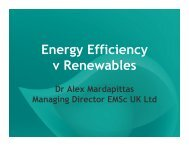 Energy Efficiency v Renewables - eco-fair