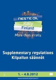 1 - Neste Oil Rally Finland