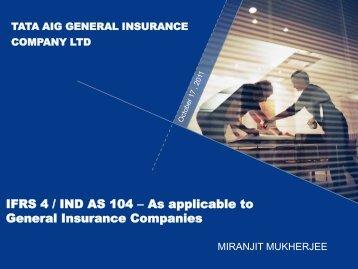 Miranjit Mukherjee - Actuarial Society of India