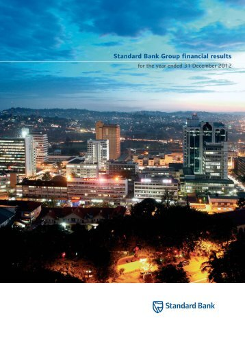 Standardbank Cover.indd - Standard Bank - Investor Relations