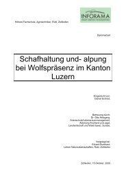 Kantonen Luzern - Herdenschutz