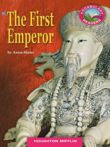 Lesson 17:The First Emperor