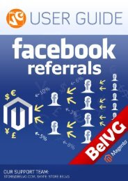 Facebook Referrals User Guide - BelVG Magento Extensions Store