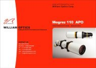 Megrez 110 10 Pages - William Optics
