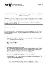 Referat af møde 19 i MmB - DEFF