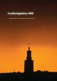 Certifieringsboken 2008.pdf - Certifiering.nu