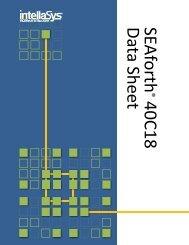 SEAforth 40C18 Data Sheet - Forth-Gesellschaft eV
