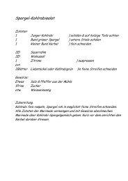 Rezept downloaden (pdf) - Gasthaus Schwanen