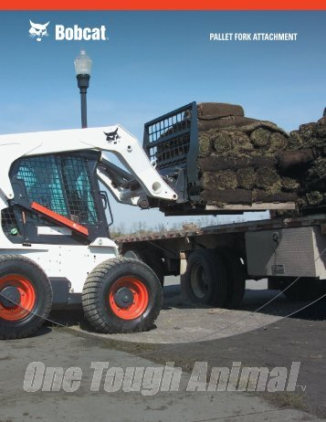 PALLET FORK ATTACHMENT - Doosan BobCat Chile