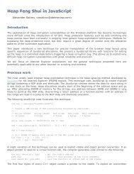 Heap Feng Shui in JavaScript - Trail of Bits