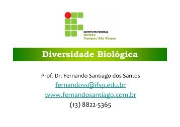 Resumo da aula em PDF - Fernando Santiago dos Santos