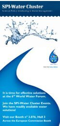 It is time for effective solutions at the 6th World Water Forum ... - Stream
