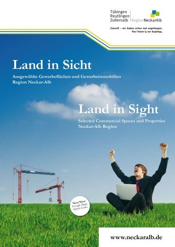 Land in Sicht Land in Sight - Standortagentur Tübingen - Reutlingen