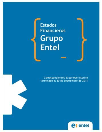 Estados Financieros Grupo Entel